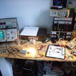 Elektroniker-Arbeitsplatz